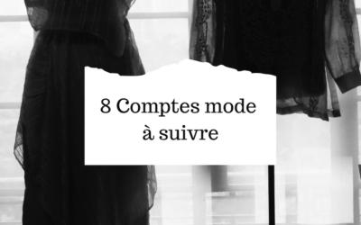 8 comptes mode à suivre sur Instagram